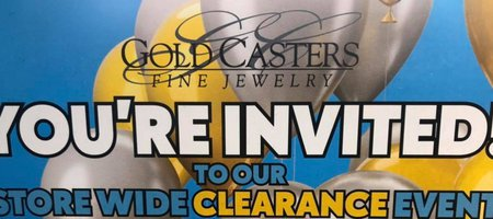 Gold Casters Clearance Event
