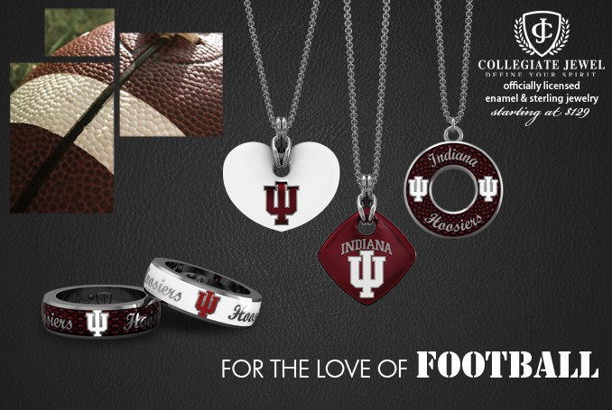 Indiana University jewelry collection
